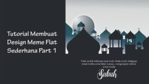 Tutorial CorelDraw Membuat Meme/Art Work Muslim